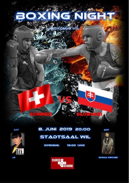Internationales Boxmeeting Wil 2019